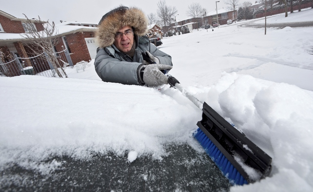 Brushing snow off of your car is important for your own safety as well as that of other drivers