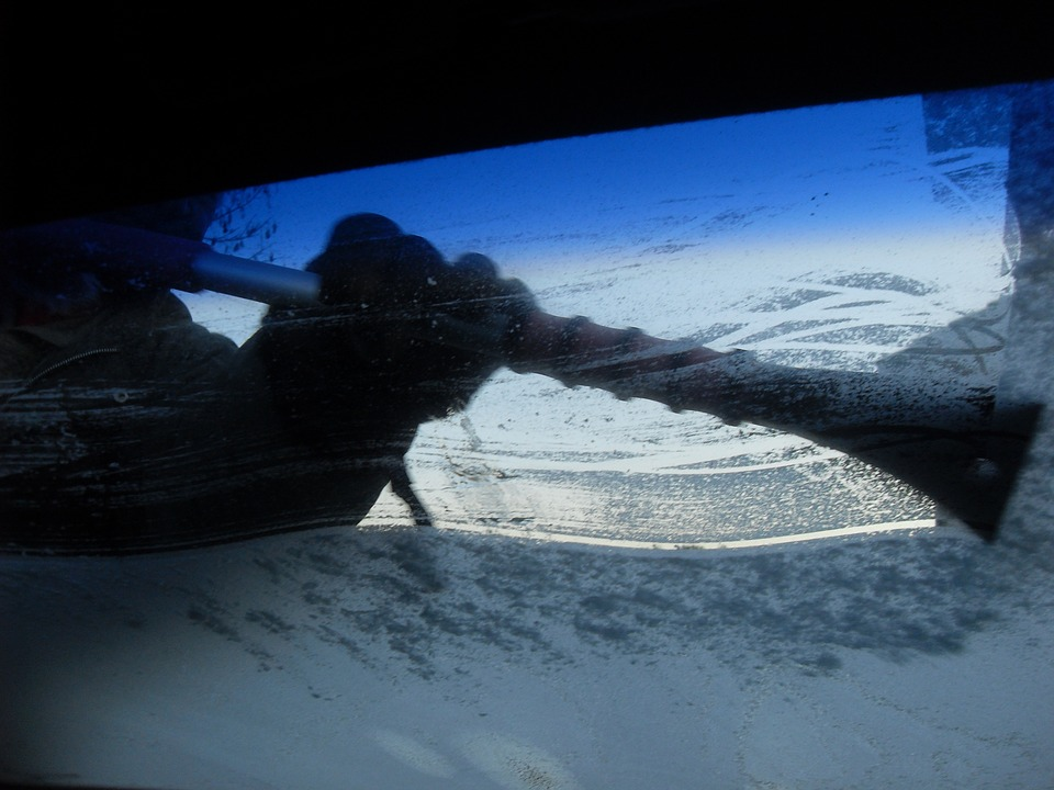 Keeping your windscreen clear of ice and snow is crucial